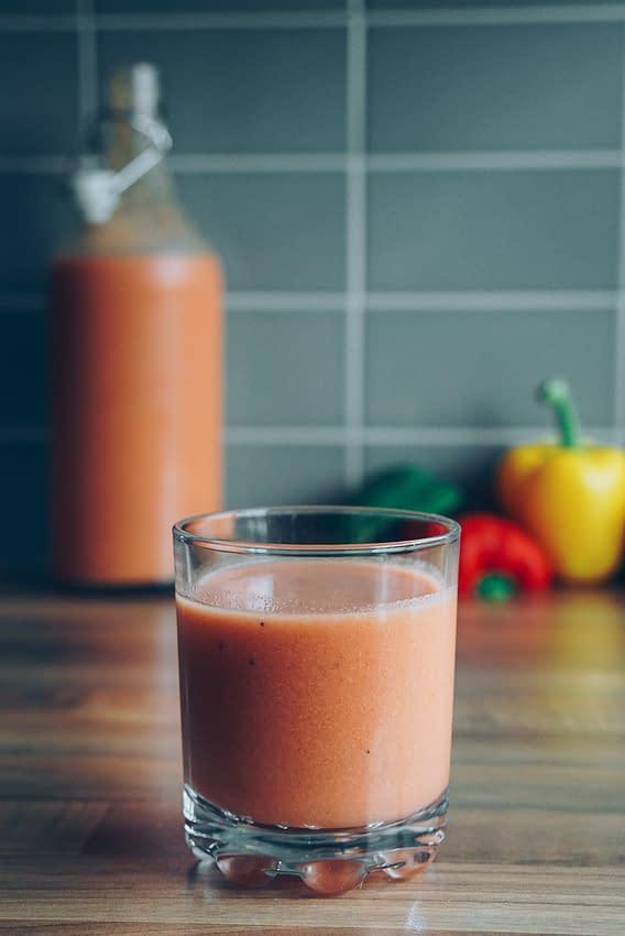 homemade gazpacho