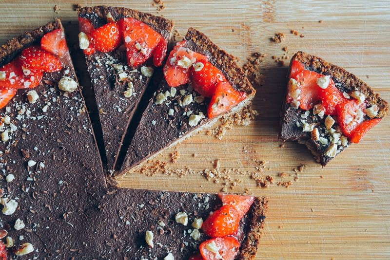 nutella-strawberries-tart